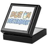 Due In December Boy Keepsake Box