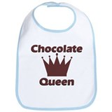 Chocolate Queen Bib