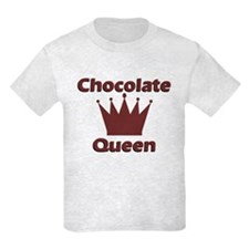 Chocolate Queen Kids Light Colored T-Shirt