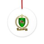 FOURNIER Family Crest Ornament (Round)