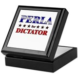 PERLA for dictator Keepsake Box