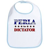 PERLA for dictator Bib