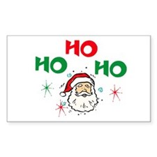 Ho, Ho, Ho! Rectangle Decal