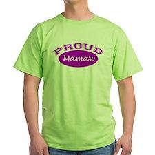 Proud Mamaw (purple) T-Shirt