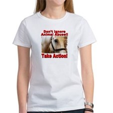 Don't ignore animal abuse... Tee