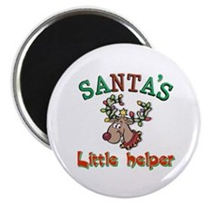 Santa's little helper Magnet