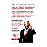 Heil Bush Poster Print (11 by 17
