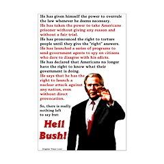 """Heil Bush Poster Print (11 by 17"""")"""