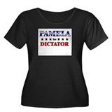PAMELA for dictator Women's Plus Size Scoop Neck D