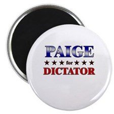 "PAIGE for dictator 2.25"" Magnet (10 pack)"