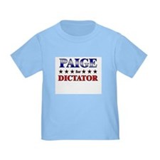 PAIGE for dictator T