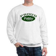 Proud Poppy (green) Sweatshirt