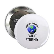 "World's Greatest PATENT ATTORNEY 2.25"" Button (10"