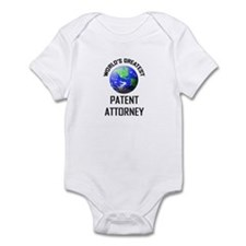 World's Greatest PATENT ATTORNEY Infant Bodysuit