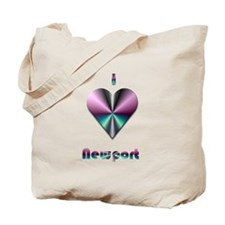 I Love Newport #2 Tote Bag