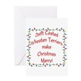 Merry Wheaten Greeting Card