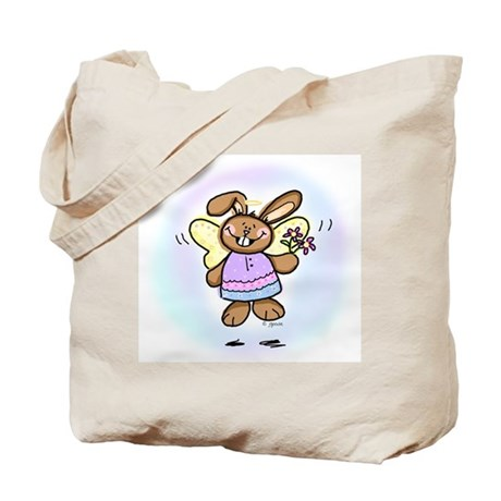 Easter Angel Tote Bag