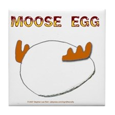 Moose Egg Tile Coaster