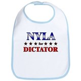 NYLA for dictator Bib
