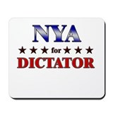 NYA for dictator Mousepad
