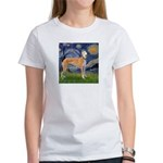 Starry / Greyhound (f) Women's T-Shirt