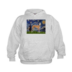 Starry / Greyhound (f) Kids Hoodie