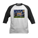 Starry / Greyhound (f) Kids Baseball Jersey