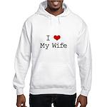 I Heart My Wife Hooded Sweatshirt
