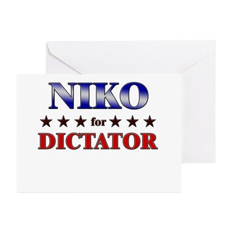 NIKO for dictator Greeting Cards (Pk of 20)