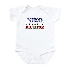 NIKO for dictator Infant Bodysuit
