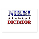 NIKKI for dictator Postcards (Package of 8)