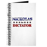 NICKOLAS for dictator Journal
