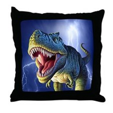 T-Rex 5 Throw Pillow