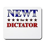 NEWT for dictator Mousepad