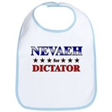 NEVAEH for dictator Bib