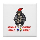 JUNGLE BELLS Tile Coaster