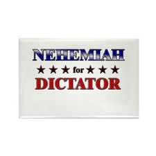 NEHEMIAH for dictator Rectangle Magnet (10 pack)