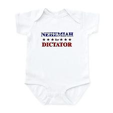 NEHEMIAH for dictator Infant Bodysuit