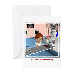 Kevin Sick Greeting Card