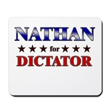 NATHAN for dictator Mousepad