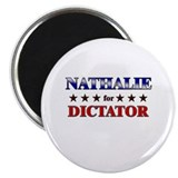 "NATHALIE for dictator 2.25"" Magnet (10 pack)"