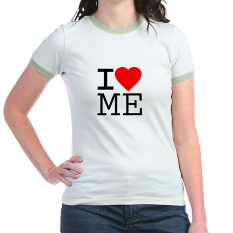 I Love Me Jr Ringer T-Shirt