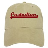 Custodian (sporty red) Cap
