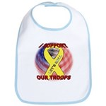 Support the Troops Bib