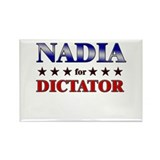 NADIA for dictator Rectangle Magnet