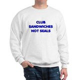 Club Sandwiches Not Seals Jumper