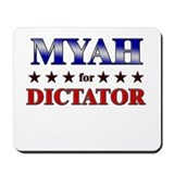 MYAH for dictator Mousepad