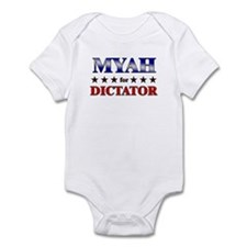 MYAH for dictator Infant Bodysuit