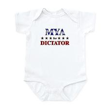 MYA for dictator Infant Bodysuit