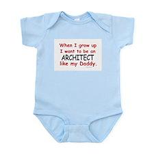 Architect (Like My Daddy) Onesie